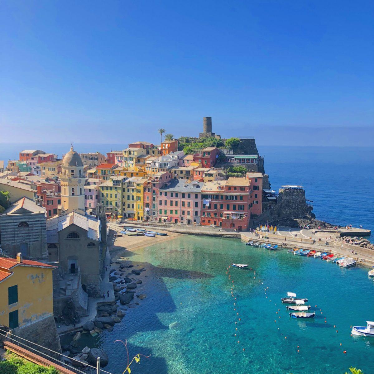 Le Cinque Terre tra poetico e pittoresco