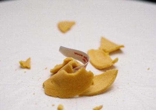 Le inaspettate origini del biscotto della fortuna