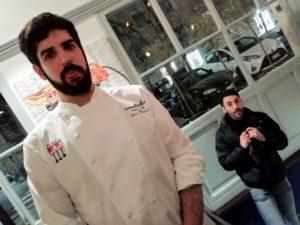 Chef Baldacci e il Pastry Chef Spavone