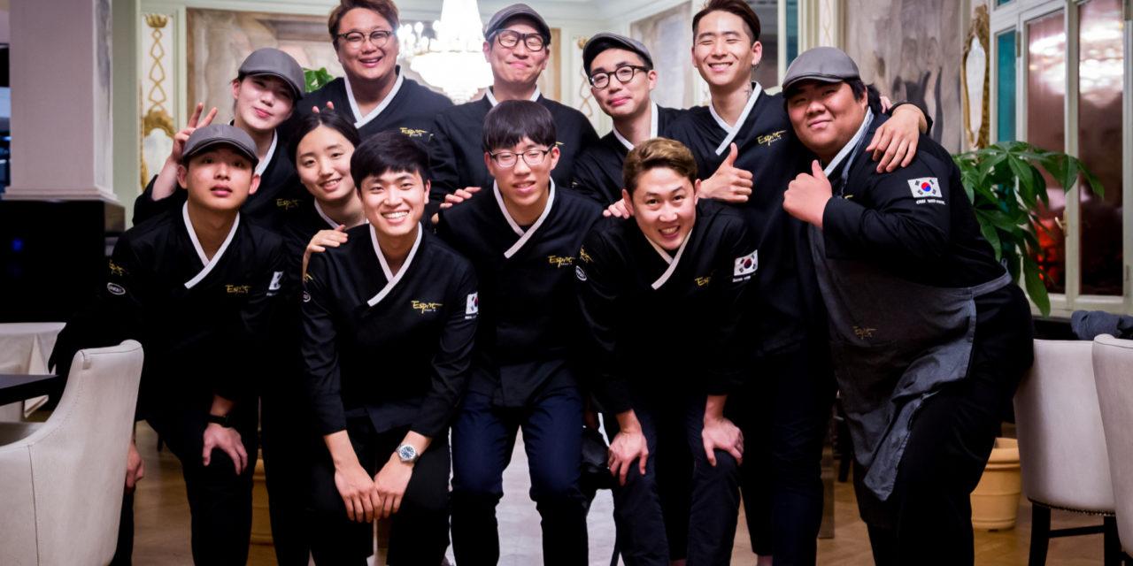 CHEF ESPRIT, Giovani Chef coreani alla ribalta