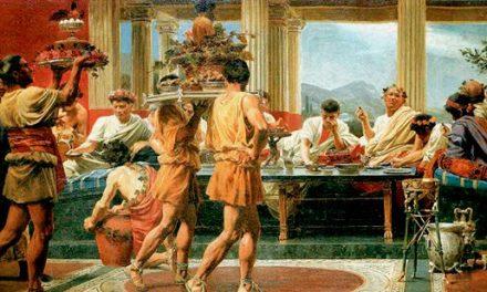 Come organizzare un banchetto nell'antica Roma