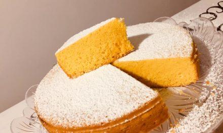 Torta Paradiso (senza lievito) del Maestro Andrea Aiello