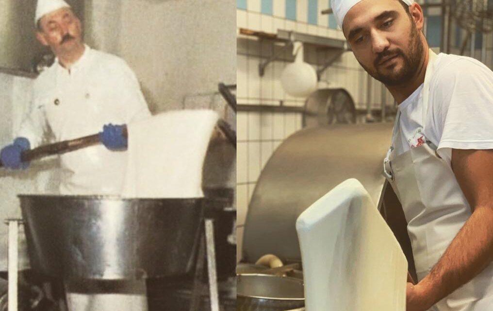 """I formaggi e i latticini della """"via del latte"""" della Maiella."""