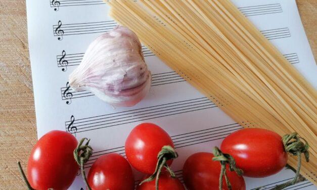 La musica del cibo